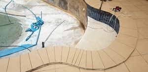 Vinyl Liner - Pool being Renovated
