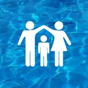Family Friendly Pool Icon