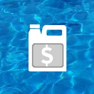 Expensive Pool Chemicals Icon